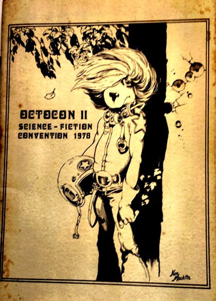 Ken Macklin cover to Octocon II booklet