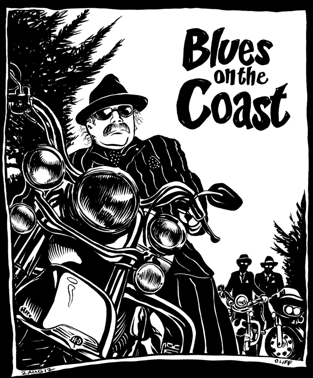 Blues on the Coast, Point Arena, Bonedaddy,